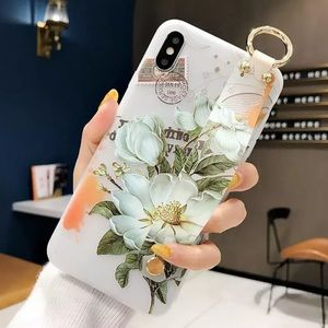 Flower Soft Silicone IPhone XS Max Case